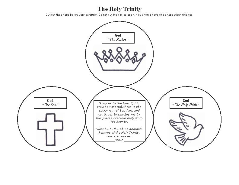 Chapter Handouts - My Catechism Class